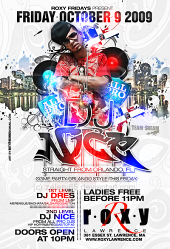Dj_Nice_Flyer_Roxy_Lawrence_by_zelery65